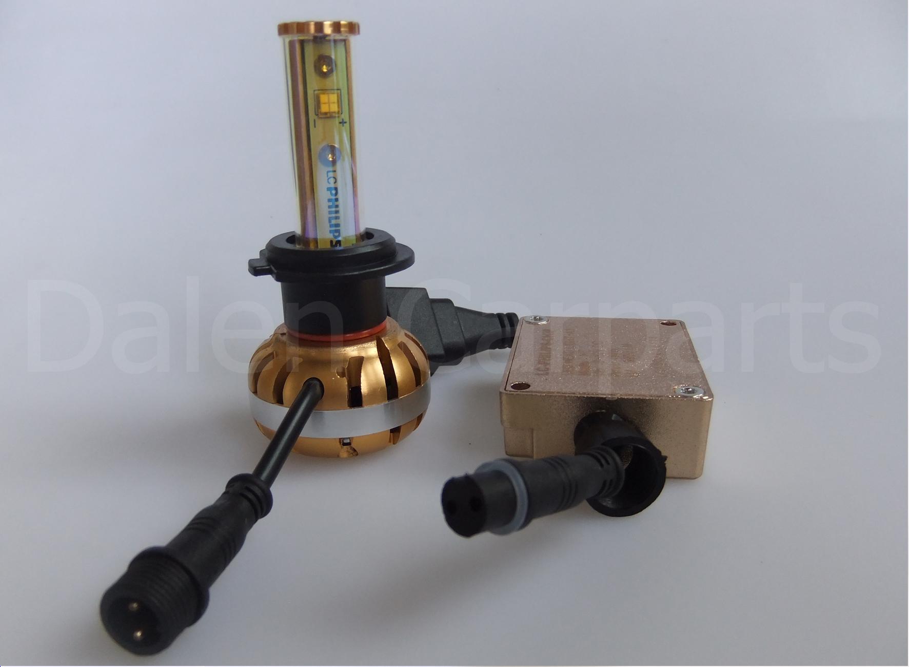 Led autolampen philips h led lamp v w lm